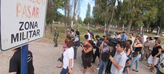 Acompañamos la inspección histórica a los centros clandestinos de Neuquén