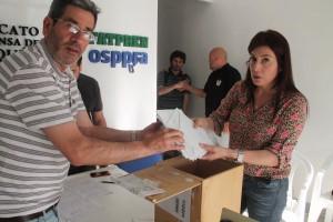 Recuento de votos 2014
