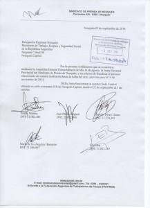 Junta Electoral 2.014