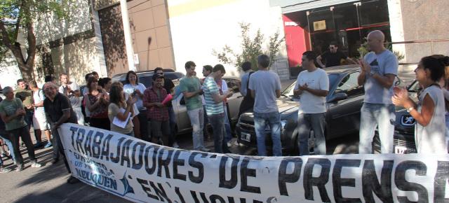 Trabajadores de Prensa exigen bono de fin de año