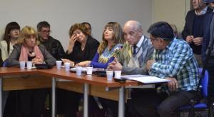 El Centro de Periodistas Jubilados Rodolfo Walsh en la exposición ante la comisión de diputados nacionales