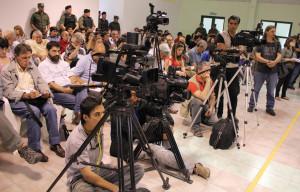 Sentencia Juicio La Escuelita II Trabajadores de Prensa en cobertura Foto Oscar Livera 01