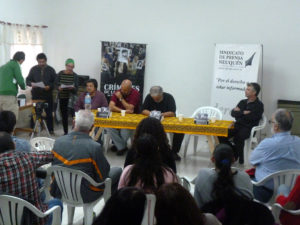 CHOS MALAL Presentación libro Crímenes de la dictadura en Nqn&Rn 16abril2016 MUTEN SPN 02