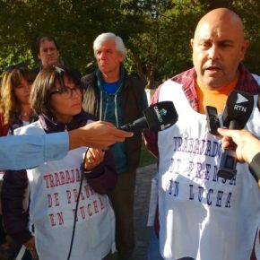 25 de marzo, día del Trabajador de Prensa. En el monumento Rodolfo Walsh, denunciamos