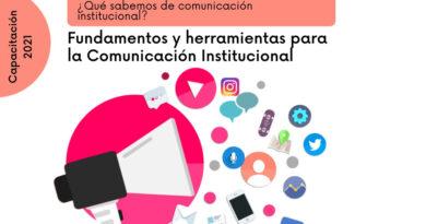 """Nueva Capacitación: """"Fundamentos y herramientas para la comunicación institucional"""""""